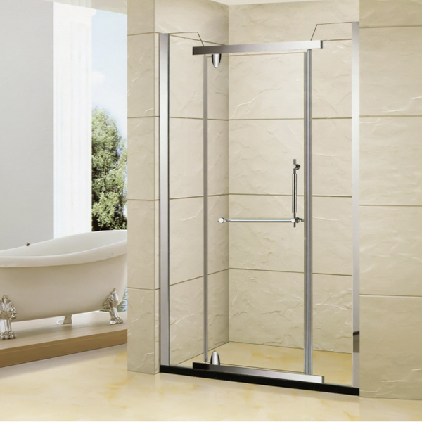 Hinge Stainless Steel Shower Door-LX-3158