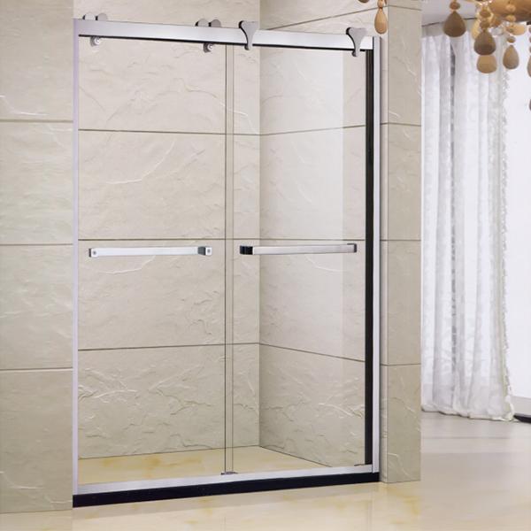 Double Handle Shower Door-LX-3160