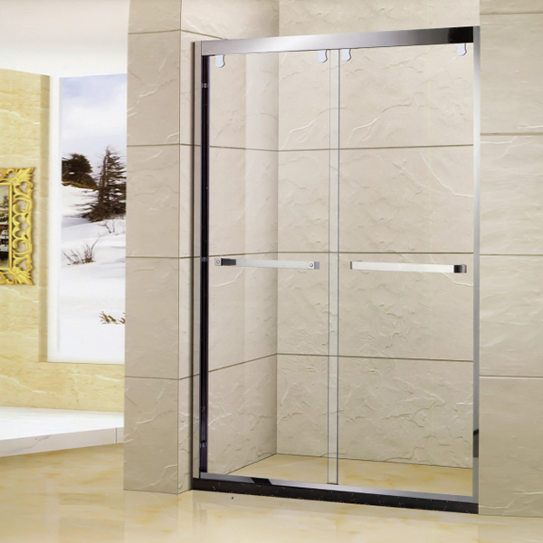 Glass Thickness Customizable Shower Door-LX-3166