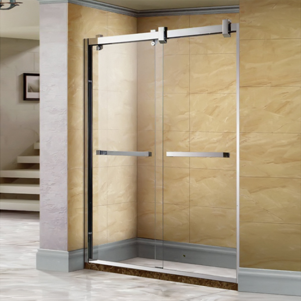 Glass Color Customizable Shower Screen-LX-3169