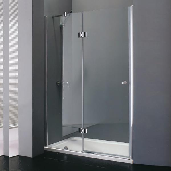 Frameless Hinge Shower Door-LX-3171