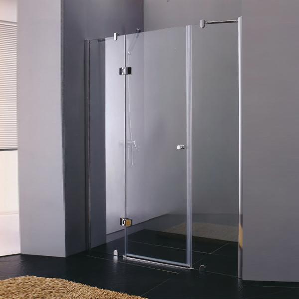 Stainless Steel Frameless Shower Door-LX-3173
