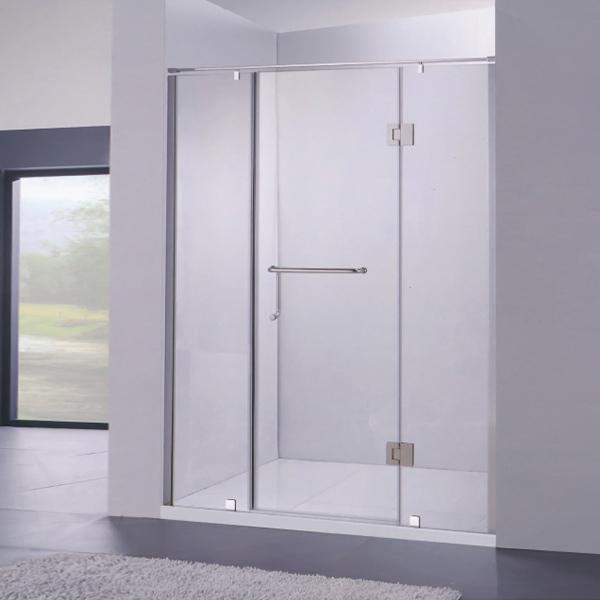 Push-Pull Shower Door With Horizontal Handle-LX-3176