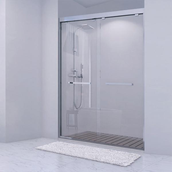 Sliding Shower Door With Frame-LX-3177