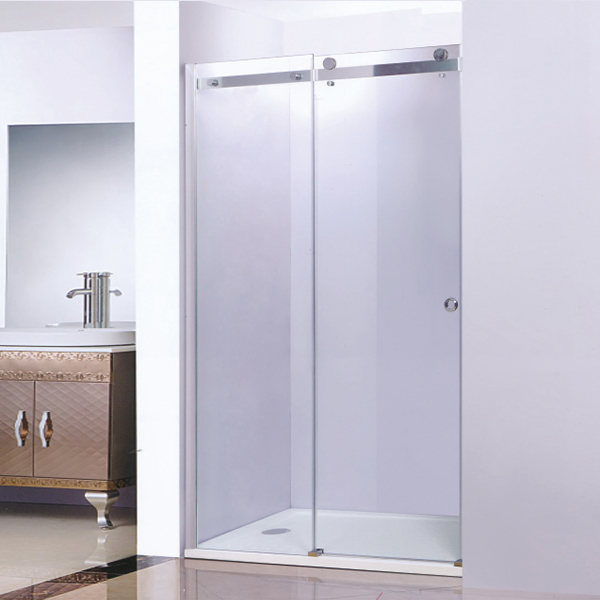 Sliding Shower Screen With ABS Tray-LX-3180
