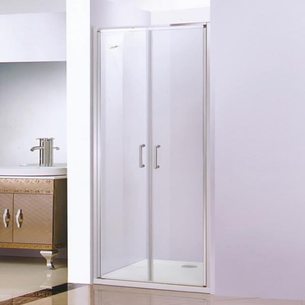 Double-Door Frame Shower Door-LX-3182