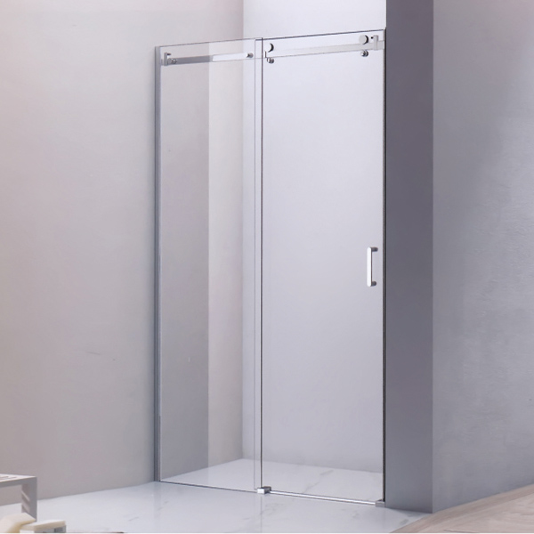 Transparent Tempered Glass Shower Door-LX-3188