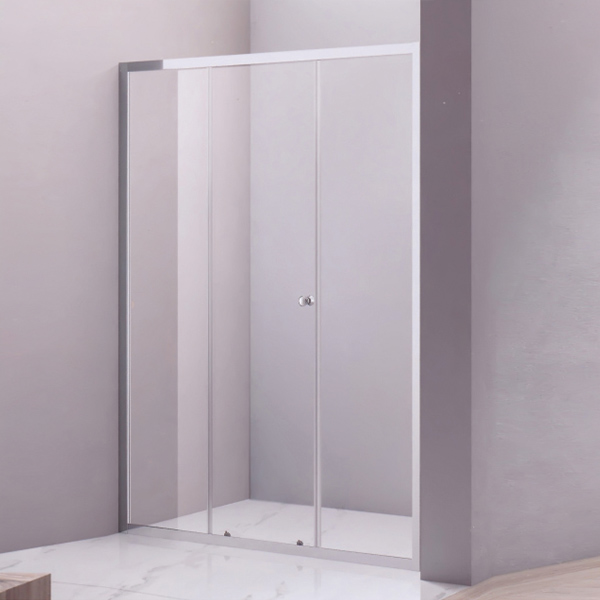 Circular Handle Frame Shower Door-LX-3189
