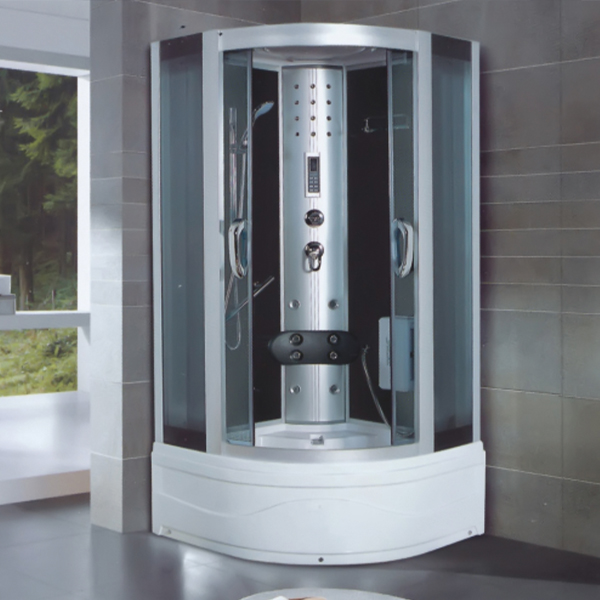 Framed Shower Cabin With Computer Control Panel-LX-7013