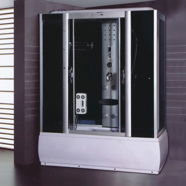 Steam Aluminum Alloy Framed Shower Cabin-LX-7022