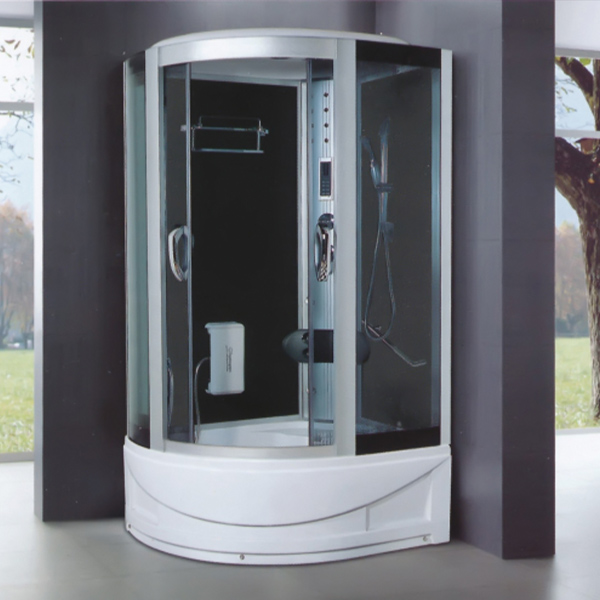 Multi Functional Polished Aluminum Alloy Shower Cabin-LX-7025