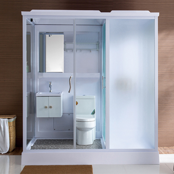 ABS Material All in One Shower Cabin-LX-8047